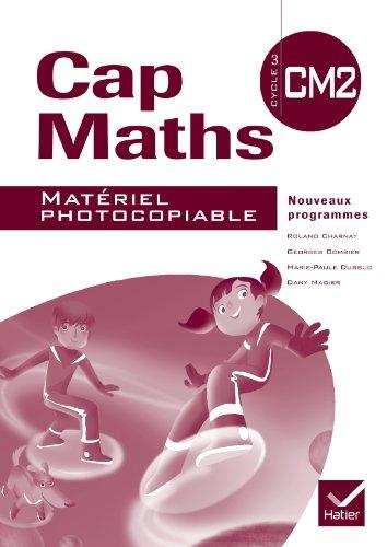 9782218943416: Cap Maths CM2 éd. 2010 - Matériel photocopiable