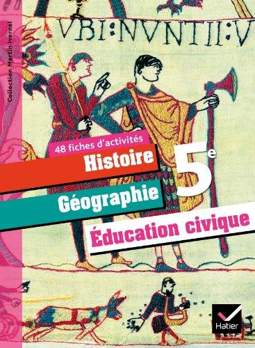 9782218943690: Histoire Geographie Education Civiqaue, 5e