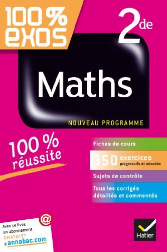 9782218944666: 100% Exos: Maths 2nde (French Edition)