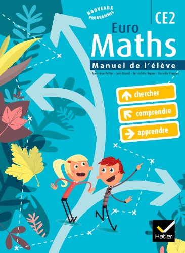 9782218944673: Euro Maths CE2 (French Edition)