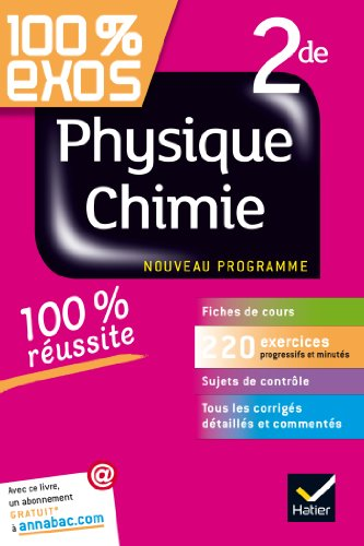 9782218944741: 100% Exos: Physique Chimie Seconde (French Edition)