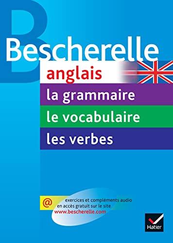 9782218944826: Bescherelle Anglais (le coffret): La grammaire - Les verbes - Le vocabulaire