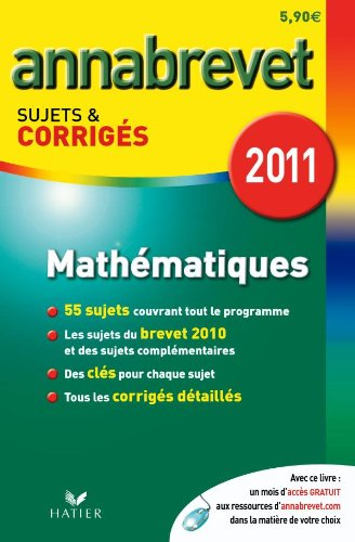 9782218945465: Mathematiques 2011 Fl (French Edition)