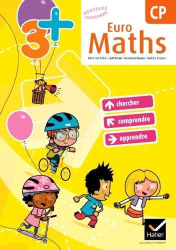 9782218945823: Euro Maths CP éd. 2011 - Fichier de l'élève + Aide-mémoire