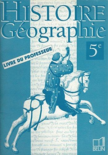 9782218946059: Histoire-géographie, 5e