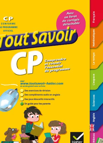 9782218949135: Tout Savoir CP (French Edition)