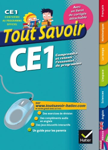Tout Savoir CE1: Ambroise Feuillet