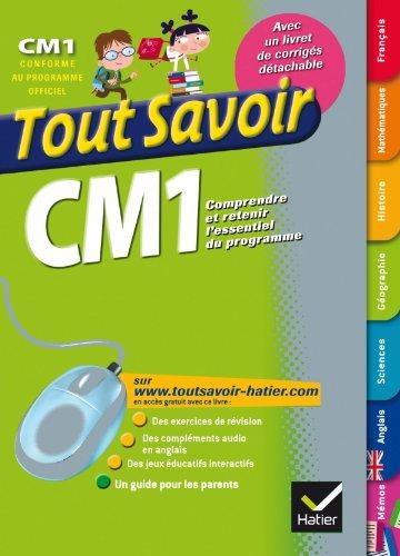 9782218949166: Tout savoir CM1 (French Edition)