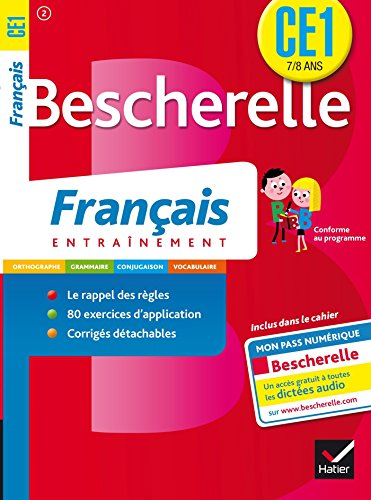 9782218949197: Cahiers Bescherelle exercices francais ce1 7-8 ans (French Edition)