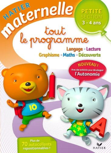9782218949791: Petite section (Hatier maternelle)