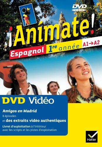 9782218951022: animate espagnol 1e annee edition 2011 : dvd video