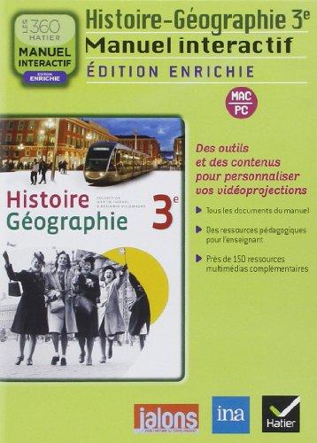 9782218951374: Histoire Geographie 3e ed. 2012 - Manuel Interactif Enrichi Version Enseignant CD ROM