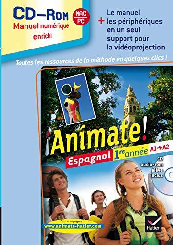 9782218951817: Animate 1e Annee ed. 2012 - CD-ROM Classe (Manuel Numerique Enrichi, Version Utilisateurs Methode)