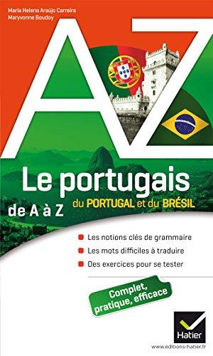 9782218952050: Le portugais du Portugal et du Brésil de A à Z: Grammaire, conjugaison et difficultés