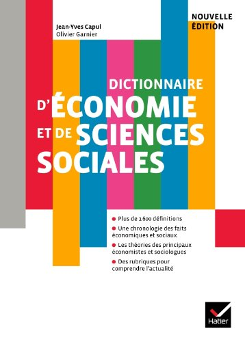 9782218952074: Dictionnaire D'economie Eg De (French Edition)