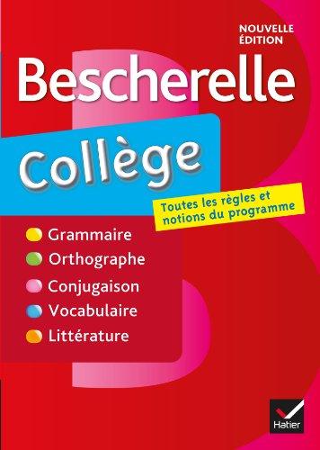 9782218952104: Bescherelle collège: tout-en-un sur la langue française pour les collégiens (Bescherelle français)