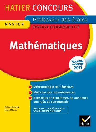 9782218952814: Epreuve écrite Mathematiques Concours 2013: Concours Professeur des Ecoles