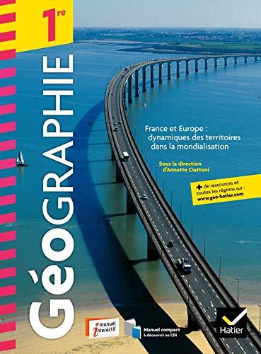 9782218953668: Geographie 1re ed. 2011 - Livre de l'Eleve (Version Enseignant)
