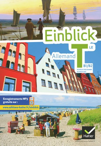 9782218953866: einblick allemand tle edition 2012 - livre de l'eleve