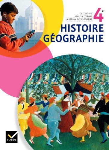 Histoire-Geographie 4e Ed. 2011 - Manuel de L Eleve (Format Compact): Anne Carol