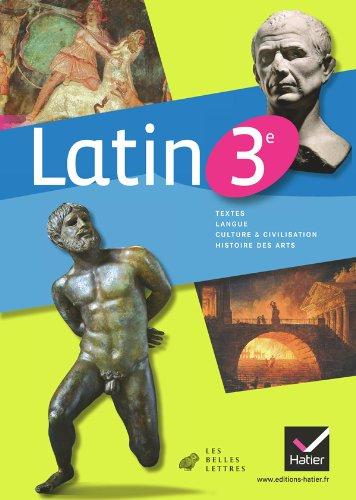 9782218954818: Latin 3e éd. 2012 - Manuel de l'élève (Latin Collège)