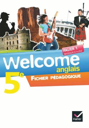 9782218955037: Welcome Anglais 5e éd. 2012 - Fichier pédagogique