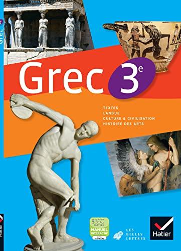 9782218955273: Grec 3e - Manuel de l'élève