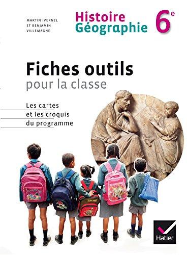 9782218955396: Histoire Géographie 6e éd. 2014 - Fiches outils pour la classe