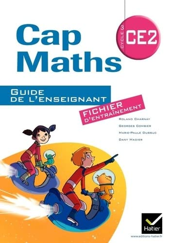 9782218956003: Cap Maths - Cycle 3 CE2 - Guide de l'enseignement: fichier d'entrainement