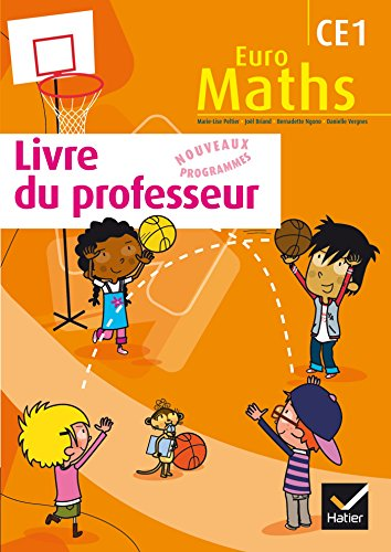 9782218956706: euro maths ce1 edition 2012 - livre du professeur