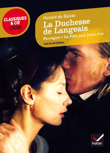9782218958885: La Duchesse De Langeais (French Edition)