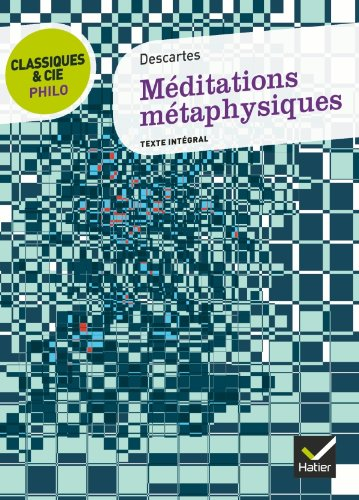 9782218958991: Meditations Metaphysiques (French Edition)