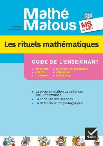 9782218959721: mathe-matous ms, edition 2012 - les rituels mathematiques, guide pedagogique