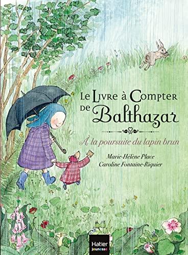9782218960482: Le livre à compter de Balthazar - A la poursuite du lapin brun (French Edition)