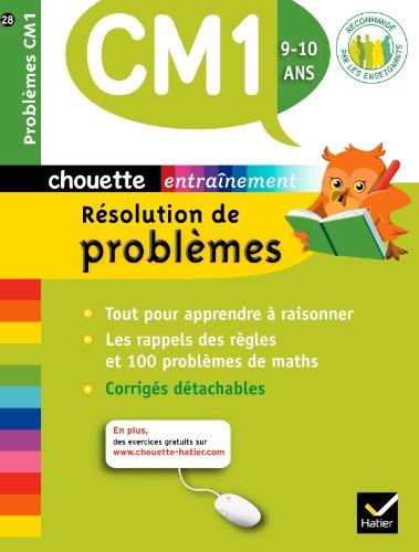 9782218960529: Chouette - Résolution de problèmes CM1