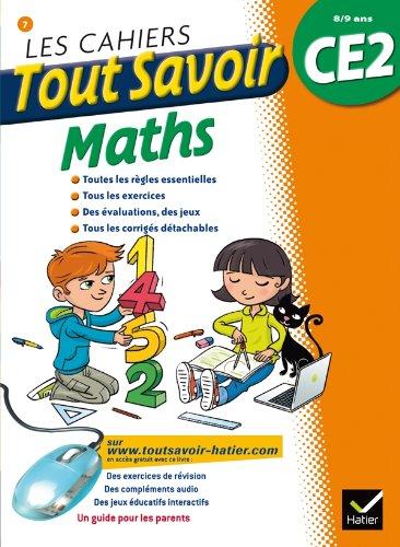 9782218960697: Les cahiers Tout Savoir Maths CE2