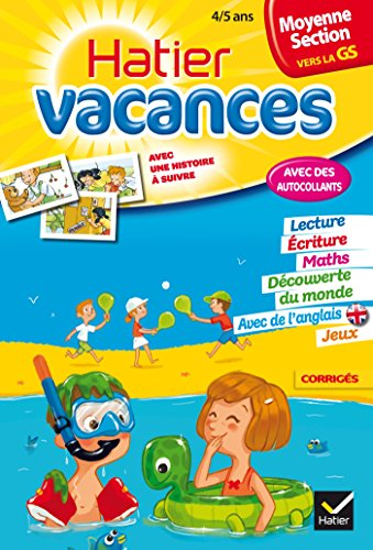 9782218960833: Cahiers De Vacances Hatier: Moyenne Section (Vers LA Grande Section) 4/5 Ans (French Edition)