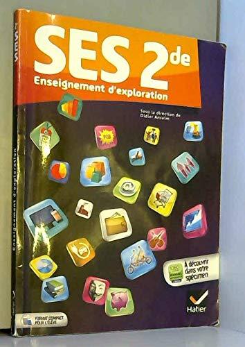 9782218962073: Ses 2de ed. 2014 - Manuel de l'Eleve Version Specimen