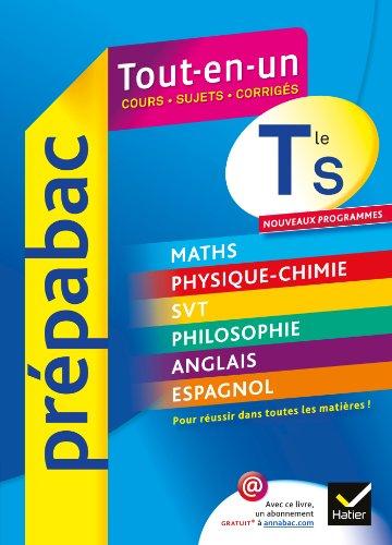 9782218962653 Prepabac Tout En Un Terminale S French