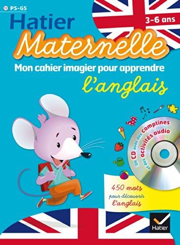 9782218963650: Hatier Maternelle: Mon Cahier Imagier Pour Apprendre L'Anglais (French Edition)