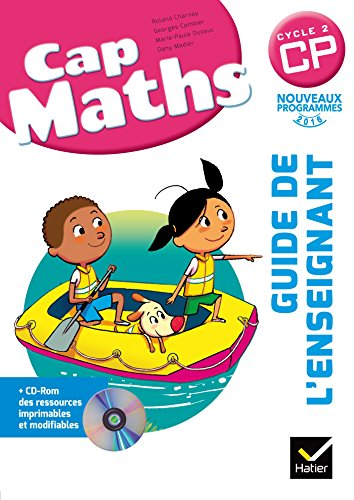 9782218964411: Cap Maths CP éd. 2016 - Guide de l'enseignant + CD Rom