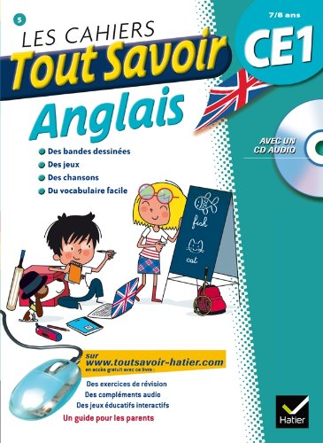 9782218964640: Les cahiers Tout Savoir Anglais CE1