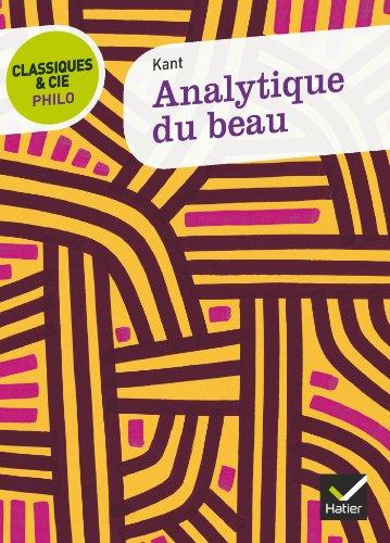 9782218966453: Analytique Du Beau (French Edition)