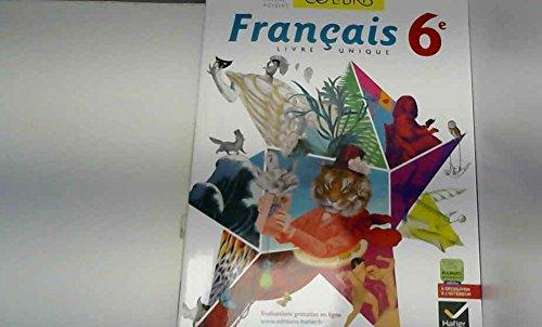 9782218967535 Colibris Livre Unique De Francais 6e Ed 2014