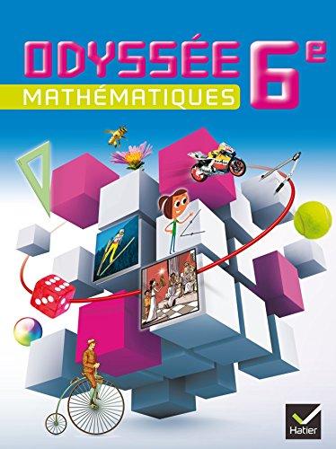 9782218968242: Odyssée Mathématiques 6e éd. 2014 - Manuel de l'élève (format compact)
