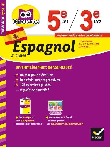 9782218969935: Espagnol 2e ann�e 5e LV1 / 3e LV2: cahier de r�vision et d'entra�nement