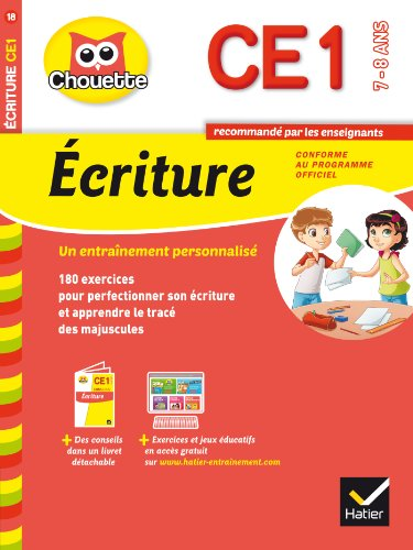 9782218970092: Collection Chouette: Ecriture Ce1 (7-8 Ans) (French Edition)