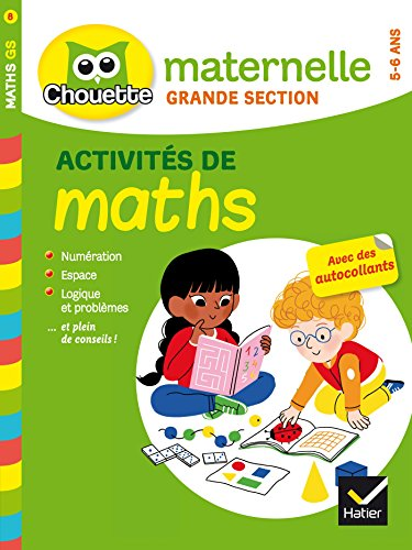 9782218971181: Maths grande section (5/6 ans)
