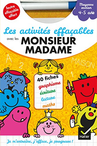 9782218971327: Collection Monsieur Madame (Mr Men & Little Miss): Les activites effacables