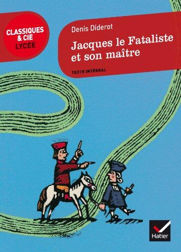 9782218971662: Jacques le Fataliste et son maître (Classiques & Cie Lycée)